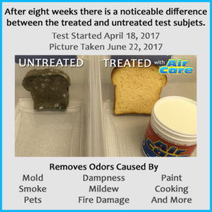 AirCare Bread Mold Test Results Blog