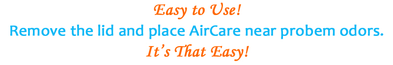 AirCare is easy to use