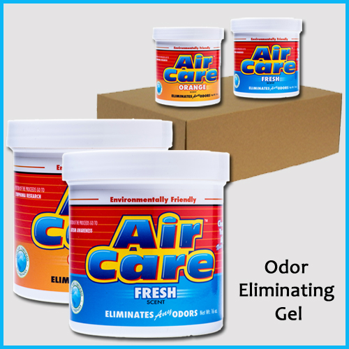 AirCare Odor Eliminating Gel Four Pack